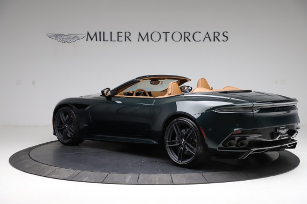 New 2021 Aston Martin DBS Superleggera Volante for sale Sold at Pagani of Greenwich in Greenwich CT 06830 3