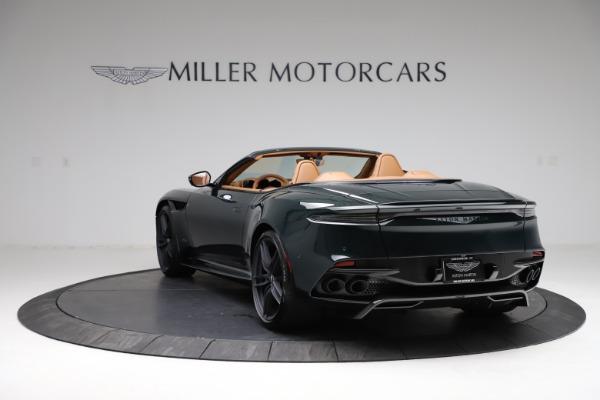 New 2021 Aston Martin DBS Superleggera Volante for sale Sold at Pagani of Greenwich in Greenwich CT 06830 4