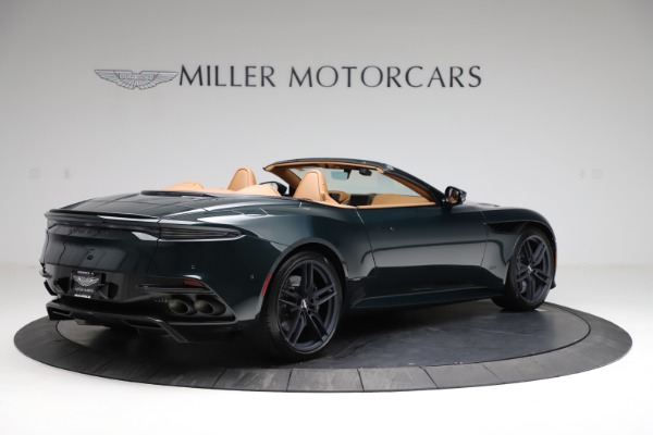 New 2021 Aston Martin DBS Superleggera Volante for sale Sold at Pagani of Greenwich in Greenwich CT 06830 7