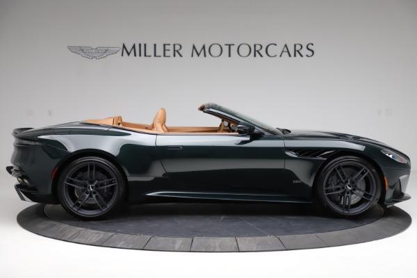 New 2021 Aston Martin DBS Superleggera Volante for sale Sold at Pagani of Greenwich in Greenwich CT 06830 8