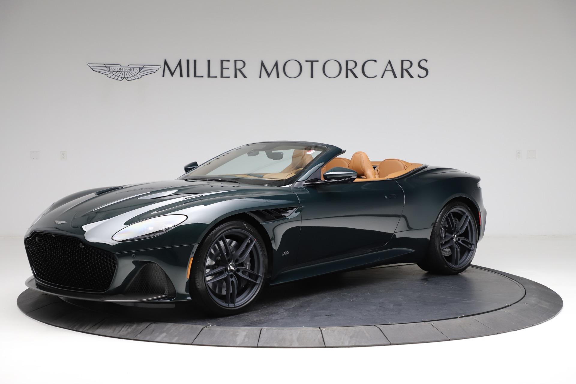 New 2021 Aston Martin DBS Superleggera Volante for sale Sold at Pagani of Greenwich in Greenwich CT 06830 1