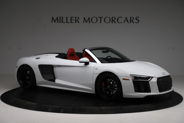 Used 2018 Audi R8 Spyder for sale $154,900 at Pagani of Greenwich in Greenwich CT 06830 10