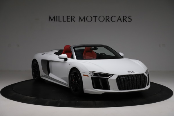Used 2018 Audi R8 Spyder for sale $154,900 at Pagani of Greenwich in Greenwich CT 06830 11