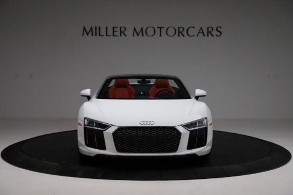 Used 2018 Audi R8 Spyder for sale $154,900 at Pagani of Greenwich in Greenwich CT 06830 12