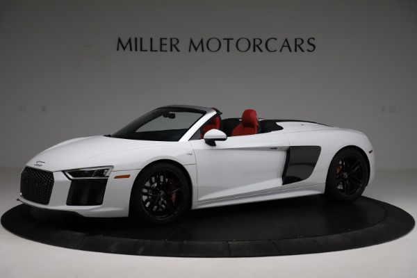Used 2018 Audi R8 Spyder for sale $154,900 at Pagani of Greenwich in Greenwich CT 06830 2