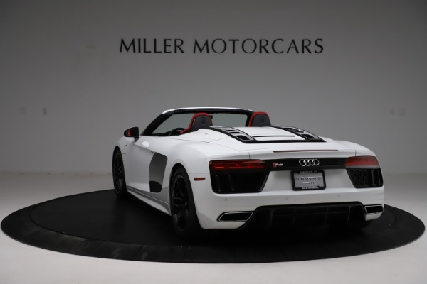 Used 2018 Audi R8 Spyder for sale $154,900 at Pagani of Greenwich in Greenwich CT 06830 5