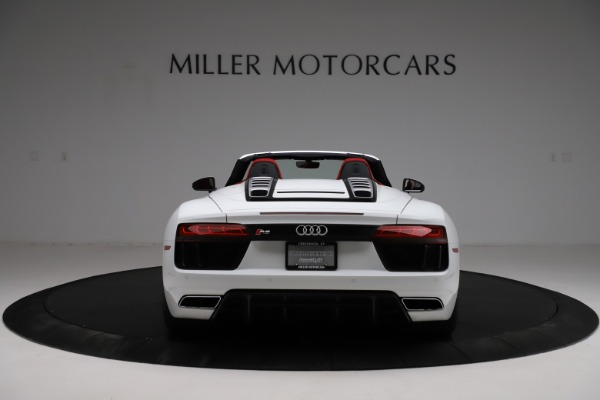 Used 2018 Audi R8 Spyder for sale $154,900 at Pagani of Greenwich in Greenwich CT 06830 6