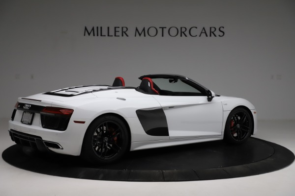 Used 2018 Audi R8 Spyder for sale $154,900 at Pagani of Greenwich in Greenwich CT 06830 8