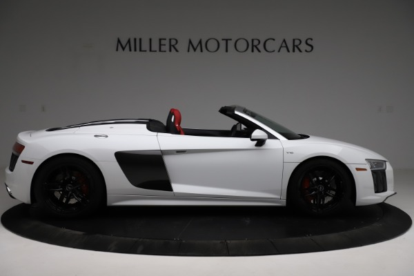 Used 2018 Audi R8 Spyder for sale $154,900 at Pagani of Greenwich in Greenwich CT 06830 9