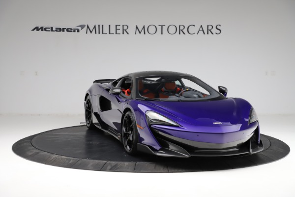Used 2019 McLaren 600LT for sale $234,900 at Pagani of Greenwich in Greenwich CT 06830 10