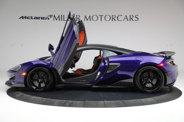 Used 2019 McLaren 600LT for sale $234,900 at Pagani of Greenwich in Greenwich CT 06830 14