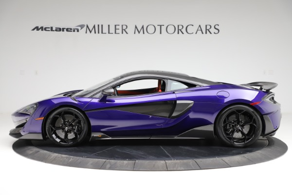 Used 2019 McLaren 600LT for sale $234,900 at Pagani of Greenwich in Greenwich CT 06830 2
