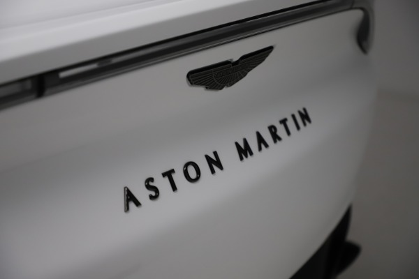 New 2021 Aston Martin DBX for sale $210,386 at Pagani of Greenwich in Greenwich CT 06830 24