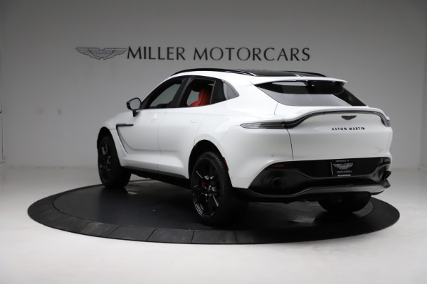 New 2021 Aston Martin DBX for sale $210,386 at Pagani of Greenwich in Greenwich CT 06830 4