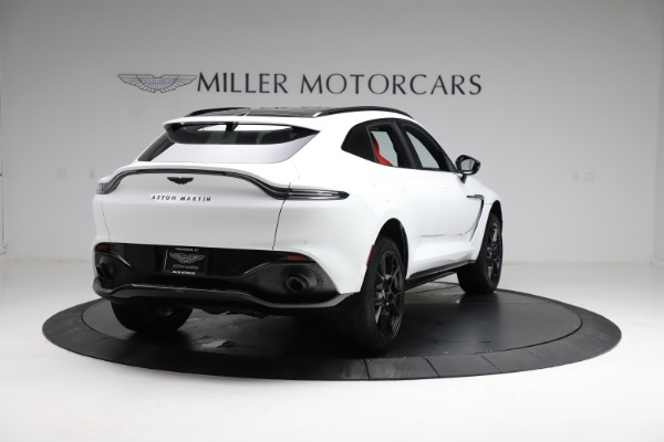 New 2021 Aston Martin DBX for sale $210,386 at Pagani of Greenwich in Greenwich CT 06830 6