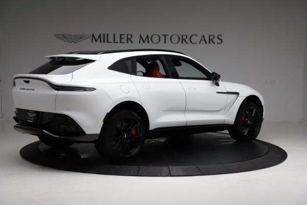 New 2021 Aston Martin DBX for sale $210,386 at Pagani of Greenwich in Greenwich CT 06830 7