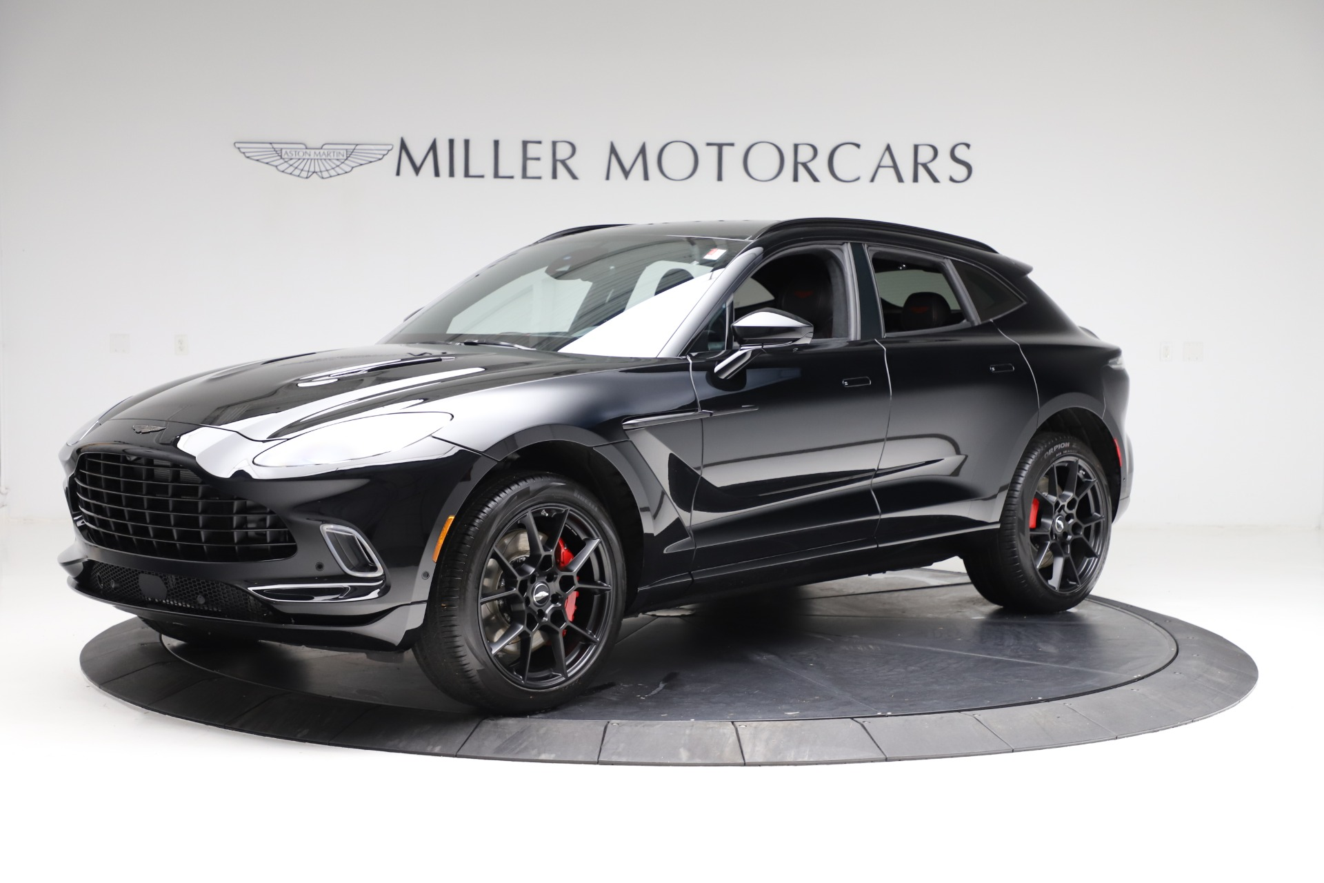 New 2021 Aston Martin DBX for sale $206,286 at Pagani of Greenwich in Greenwich CT 06830 1