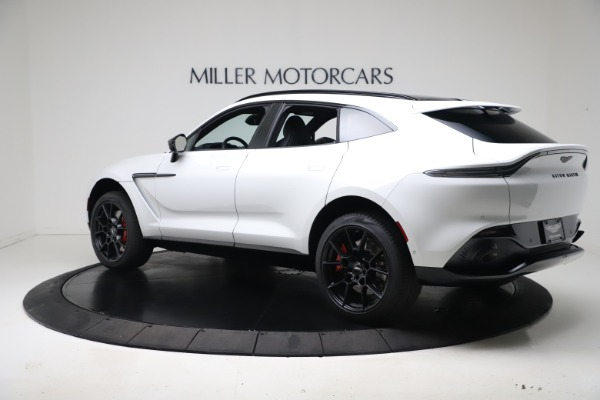 New 2021 Aston Martin DBX for sale $206,286 at Pagani of Greenwich in Greenwich CT 06830 3