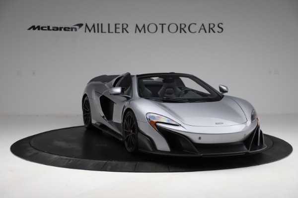 Used 2016 McLaren 675LT Spider for sale $275,900 at Pagani of Greenwich in Greenwich CT 06830 10