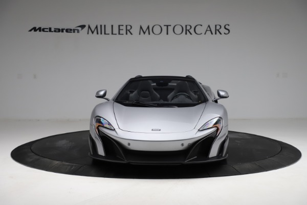 Used 2016 McLaren 675LT Spider for sale $275,900 at Pagani of Greenwich in Greenwich CT 06830 11