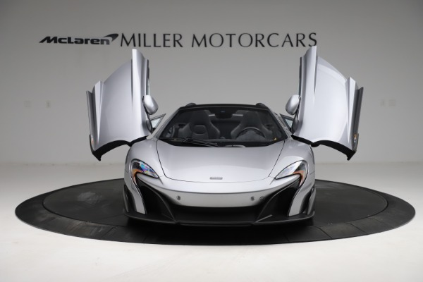 Used 2016 McLaren 675LT Spider for sale $275,900 at Pagani of Greenwich in Greenwich CT 06830 12