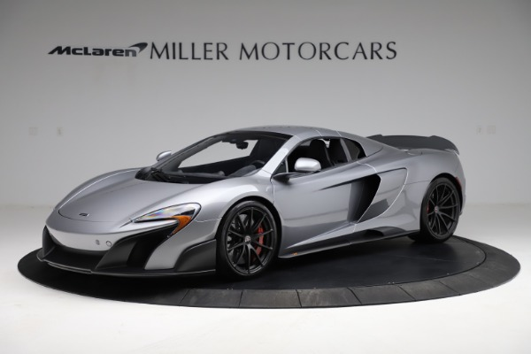 Used 2016 McLaren 675LT Spider for sale $275,900 at Pagani of Greenwich in Greenwich CT 06830 14