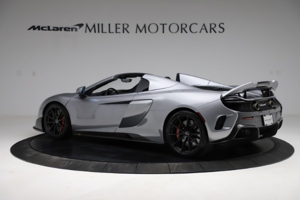 Used 2016 McLaren 675LT Spider for sale $275,900 at Pagani of Greenwich in Greenwich CT 06830 3