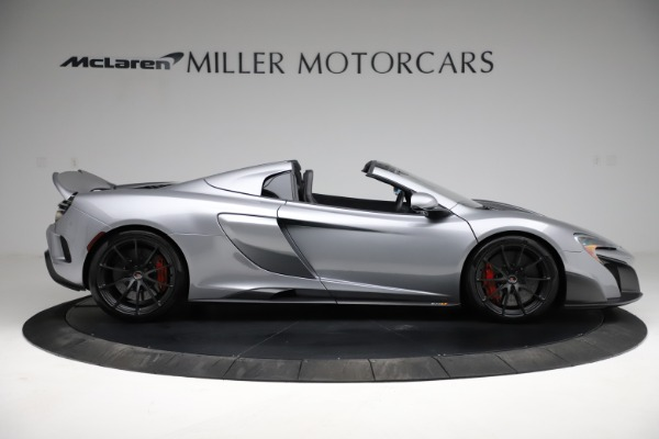 Used 2016 McLaren 675LT Spider for sale $275,900 at Pagani of Greenwich in Greenwich CT 06830 8