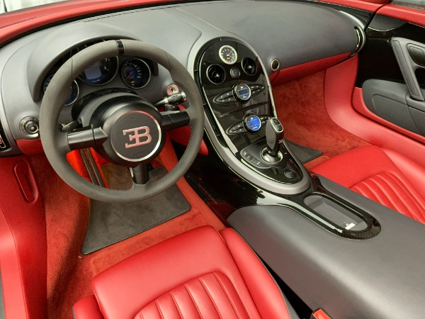 Used 2013 Bugatti Veyron 16.4 Grand Sport Vitesse for sale Call for price at Pagani of Greenwich in Greenwich CT 06830 20