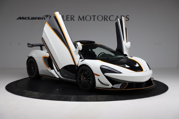 New 2020 McLaren 620R for sale $312,605 at Pagani of Greenwich in Greenwich CT 06830 15