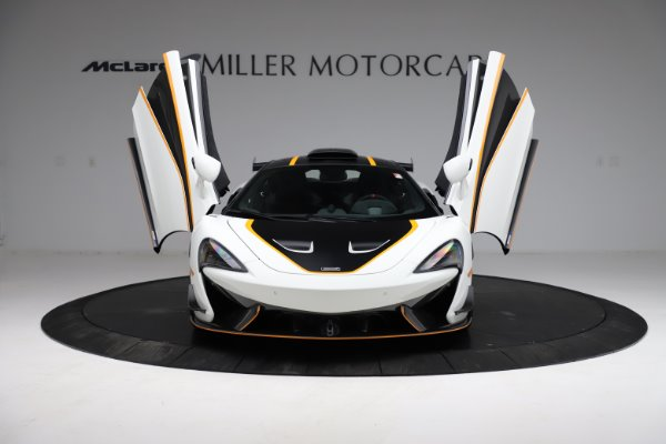 New 2020 McLaren 620R for sale $312,605 at Pagani of Greenwich in Greenwich CT 06830 16