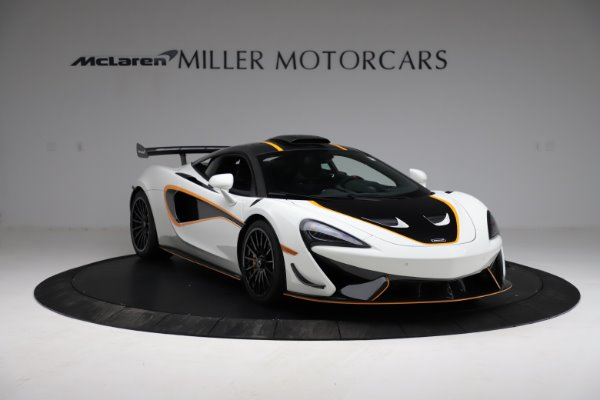 New 2020 McLaren 620R for sale $312,605 at Pagani of Greenwich in Greenwich CT 06830 9