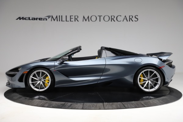 New 2021 McLaren 720S Spider for sale $351,450 at Pagani of Greenwich in Greenwich CT 06830 2