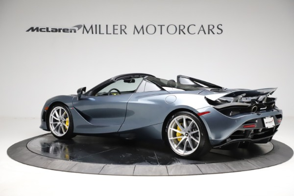 New 2021 McLaren 720S Spider for sale $351,450 at Pagani of Greenwich in Greenwich CT 06830 3