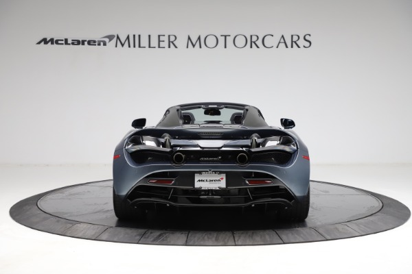 New 2021 McLaren 720S Spider for sale $351,450 at Pagani of Greenwich in Greenwich CT 06830 5