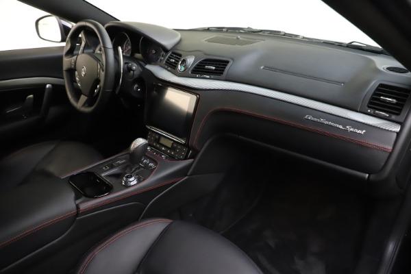 Used 2018 Maserati GranTurismo Sport for sale $98,900 at Pagani of Greenwich in Greenwich CT 06830 18