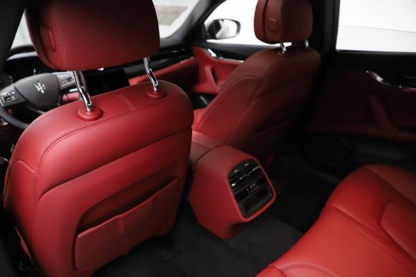 New 2021 Maserati Quattroporte S Q4 GranLusso for sale $122,435 at Pagani of Greenwich in Greenwich CT 06830 18