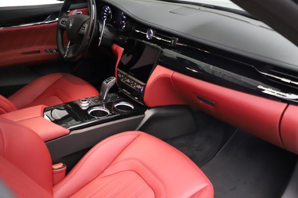 New 2021 Maserati Quattroporte S Q4 GranLusso for sale $122,435 at Pagani of Greenwich in Greenwich CT 06830 22