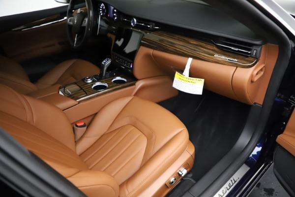 New 2021 Maserati Quattroporte S Q4 for sale Call for price at Pagani of Greenwich in Greenwich CT 06830 22