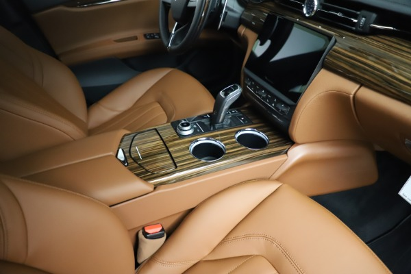 New 2021 Maserati Quattroporte S Q4 for sale Call for price at Pagani of Greenwich in Greenwich CT 06830 23