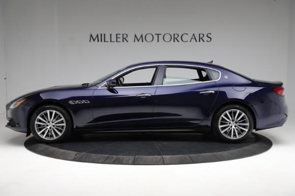 New 2021 Maserati Quattroporte S Q4 for sale Call for price at Pagani of Greenwich in Greenwich CT 06830 3