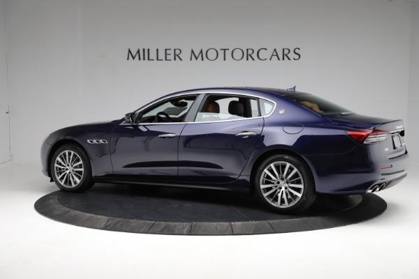 New 2021 Maserati Quattroporte S Q4 for sale Call for price at Pagani of Greenwich in Greenwich CT 06830 4