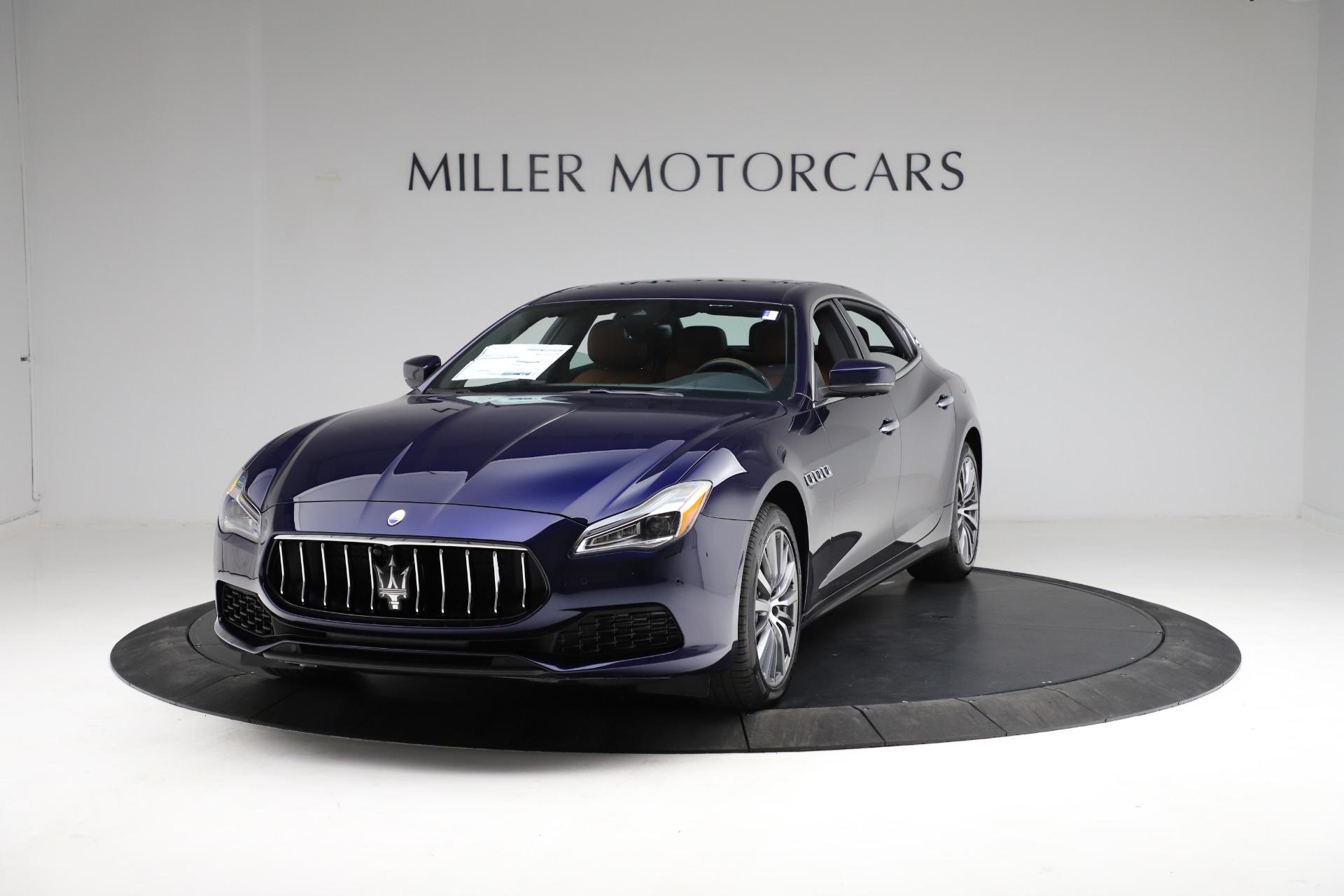 New 2021 Maserati Quattroporte S Q4 for sale Call for price at Pagani of Greenwich in Greenwich CT 06830 1