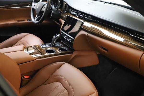 New 2021 Maserati Quattroporte S Q4 GranLusso for sale $123,549 at Pagani of Greenwich in Greenwich CT 06830 20