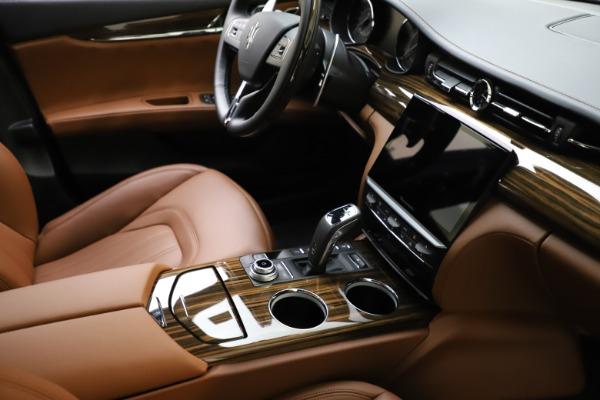 New 2021 Maserati Quattroporte S Q4 GranLusso for sale $123,549 at Pagani of Greenwich in Greenwich CT 06830 21