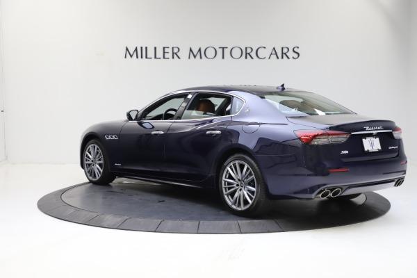 New 2021 Maserati Quattroporte S Q4 GranLusso for sale $123,549 at Pagani of Greenwich in Greenwich CT 06830 4