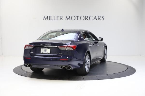 New 2021 Maserati Quattroporte S Q4 GranLusso for sale $123,549 at Pagani of Greenwich in Greenwich CT 06830 6