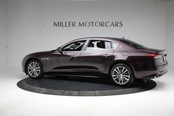 New 2021 Maserati Quattroporte S Q4 for sale $114,149 at Pagani of Greenwich in Greenwich CT 06830 3