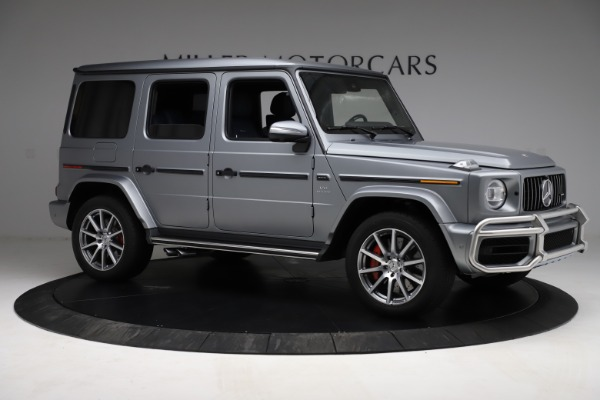 Used 2021 Mercedes-Benz G-Class AMG G 63 for sale $219,900 at Pagani of Greenwich in Greenwich CT 06830 10