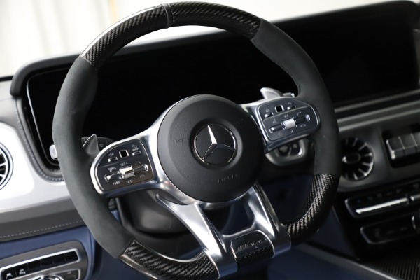 Used 2021 Mercedes-Benz G-Class AMG G 63 for sale $219,900 at Pagani of Greenwich in Greenwich CT 06830 18